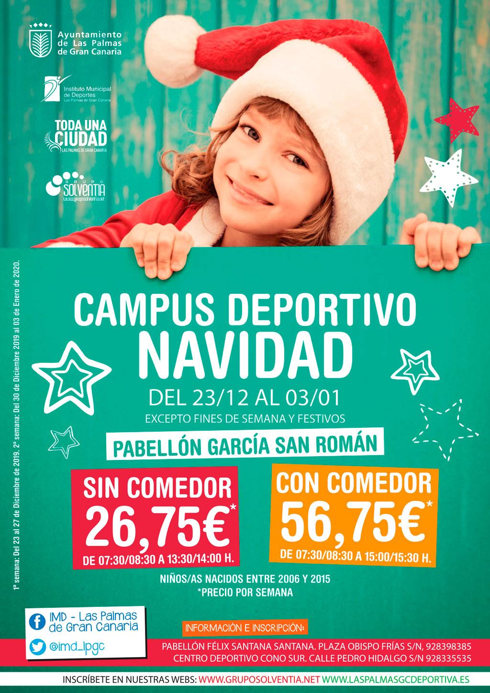 CAMPUS DEPORTIVO DE NAVIDAD 2020