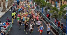 Los más de 1.000 finisher del Cajasiete Gran Canaria Maratón colocan a la prueba en la novena posición nacional